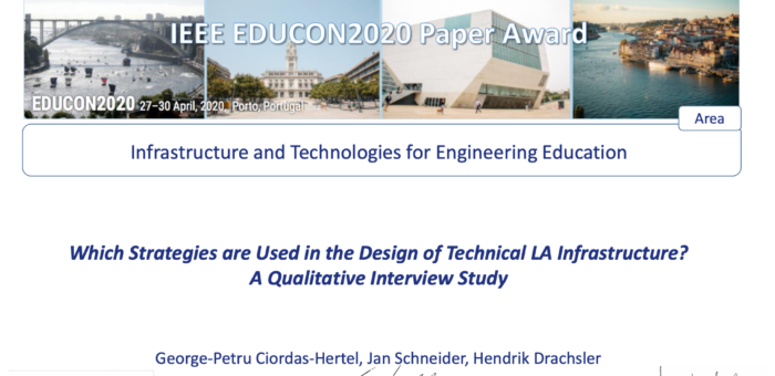 Which Strategies are Used in the Design of Technical LA Infrastructure? A Qualitative Interview Study