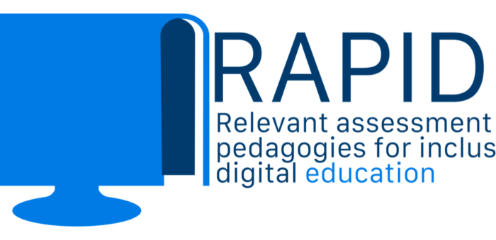 New E+ project RAPIDE – Relevant assessment and pedagogies for inclusive digital education