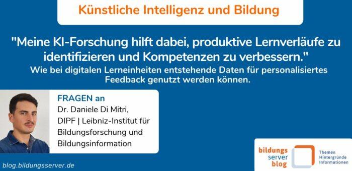 Meine KI-Forschung hilft dabei, produktive Lernverläufe zu identifizieren und Kompetenzen zu verbessern