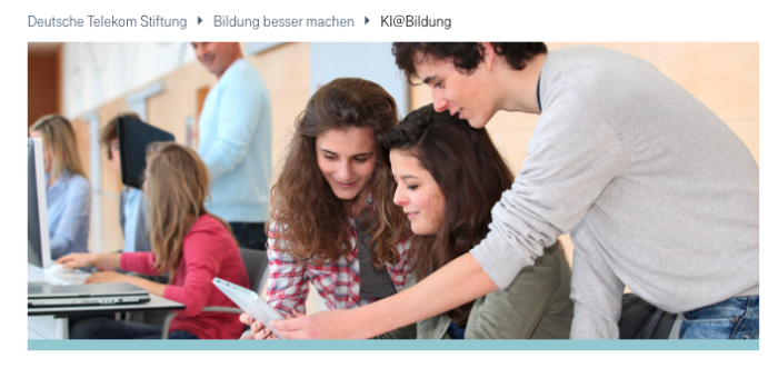 Telekom Report AI@School – Teaching and Learning with Artificial Intelligence