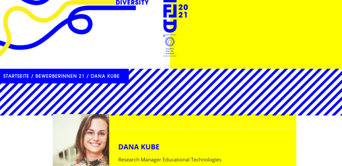 EduTech team member finalist for Global Digital Female Leadership Award 2021