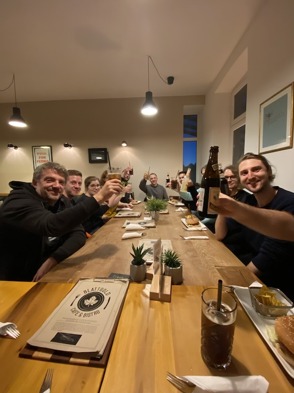 ALICE project team goes fully vegan :)